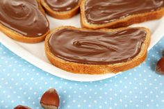 Are your kids Nutella lovers?? We have created a delicious healthier version of it!  #skinnynutella