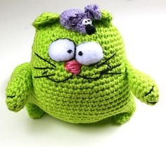 Zilka crochet Cat amigurumiCrochet Animal Crochet by SoutacheOOAK