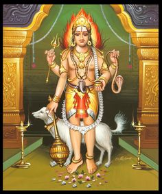 Lord Bhairava Bhairava Gayatri Mantra Benefit (s) : Lord Bhairava or Lord Bhairon is the fierce form of Lord Shiva. Lord Bhairava is one of the very powerful boon giver and an easy to appease God in this Kali Yuga. Shiva Hindu, Hindu Rituals, Shiva Shakti, Hindu Deities, Hindu Art, Om Namah Shivaya, Lord Shiva Statue, Lord Vishnu, Gayatri Mantra