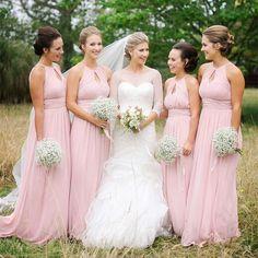 Bridesmaid Dress, Elegant Unique Bridesmaid Dresses,A-line Bridesmaid Dress,Chiffon bridesmaid dress,Custom bridesmaid dress, Wedding Party Dresses,Long Bridesmaid Dress,Bridesmaid Dresses BD17501