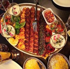 Persian food Kebab