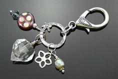 Aromatherapy BLING! Jewelry, Clip-ons, Fobs, Key Chains - Sparkly FUN!