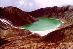 Laguna Verde, Boyaca, Colombia.