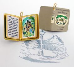 Miniature Book Charm Quote Pendant by VintageCharmedBooks | I'd love one of The Wind in the Willows