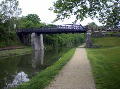 The Chesapeake and Ohio (C&O) Canal is one of the most intact and impressive survivals of the American canal-building era. Description from homethesign.com. I searched for this on bing.com/images
