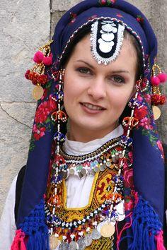 Elhovo Bulgaria, traditional beadwork