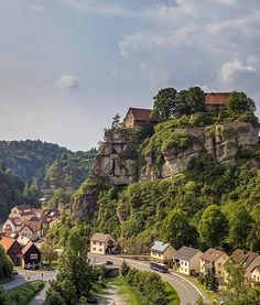 Pottenstein castle and town in the district of Bayreuth, Bavaria, Germany | by Harald Nachtmann http://www.harald-nachtmann.de
