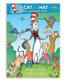 The Cat in the Hat Wings and Paws and Fins and Claws Paperback