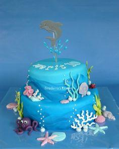 taart dolfijn golven - Google zoeken
