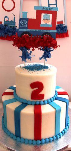 Photo 1 of 29: Trains / Birthday Chugga Chugga Choo Choo for a Little Boy thats Two!! | Catch My Party