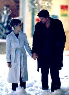 Buffy & Angel & the snow ~ #Buffy