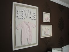 cute idea for baby's first outfit