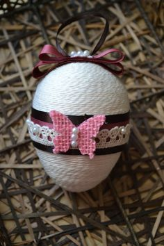 Set of 3 Easter eggs Easter eggs Easter decor by Leafbirdcrafts - Nancy Flock Alexander - Easter Egg Crafts, Easter Projects, Easter Eggs, Oster Dekor, Egg Shell Art, Christian Crafts, Bird Crafts, Easter Crochet, Egg Decorating
