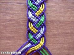 Weawing bracelet photo tutorial in russian