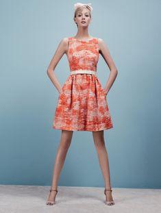 лукбук Paule Ka прет-а-порте 2012 #vestido #estampa