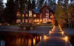 My next peek a poo getaway! Lake Tahoe, California 9-Bedroom Lakefront Vacation Rental