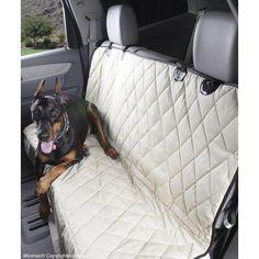 4Knines Rear Seat Cover, Regular, Tan