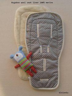 Bugaboo wool seat liner / podložka 100% MERINO TOP