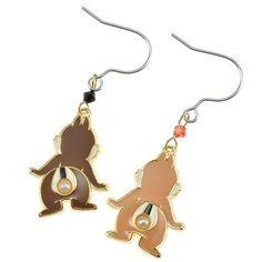 Chip & Dale Earrings Disney Store Japan