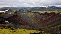 Eldgjá-Schlucht #Island #Iceland