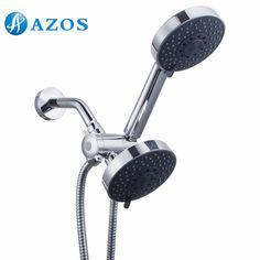 Bathroom Five Function Handheld Shower and Showerhead Combo System Hose, Chrome Color LYTZ052 #Affiliate