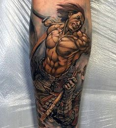 Strong and Perfect Worrior Tattoos (29)