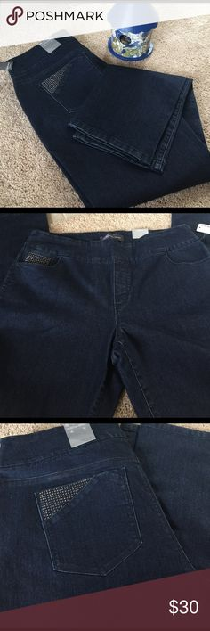 Reitman The Original Comfort Jeans. Beautiful jeans. New with tag. Roughly 32 inch inseam, waistline is about 38 inches. Size 15 but no size 15 available on Poshmark chart. So I said 14. 😁 Reitmans Jeans Jeans Straight Leg