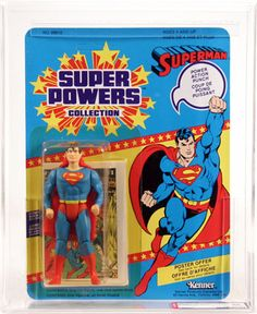 As a kid you had to have a Superman Action Figure! - Teufel Hund