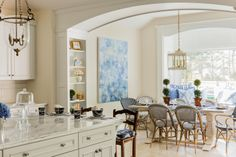 kitchen and dining area | Elizabeth Benedict