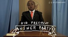 """Kid President Explains It All"" oder ""Der junge Obama"""