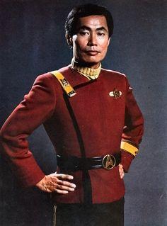 Hikaru Sulu (George Takei) from Star Trek IV: The Voyage Home Star Trek Enterprise, Star Trek Voyager, Star Trek 1, Star Trek Series, Star Trek Cosplay, Star Trek Original, Science Fiction, Deviantart, Deep Space Nine