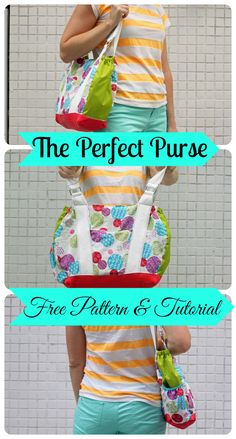Free Purse Pattern and Tutorial {Sew-a-bration of Womanhood} - Nap-time Creations