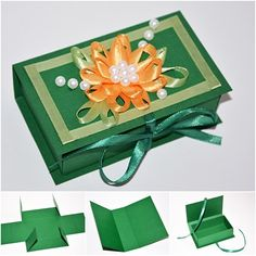 DIY Easy Paper Gift box with template.  How to--> http://wonderfuldiy.com/wonderful-diy-easy-paper-gift-box/