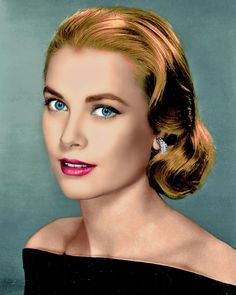 Princess Grace Kelly of Monaco Hollywood Glamour, Hollywood Stars, Hollywood Actresses, Classic Hollywood, Old Hollywood, Divas, Princesa Grace Kelly, Patricia Kelly, Actrices Hollywood