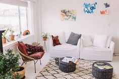 We're Low-Key Obsessed With How This Aussie Model Decorates a Family Home via @MyDomaineAU
