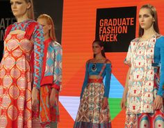 The Patternbank team were lucky enough to get our hands on tickets to Wednesday nights Gala Awards Show at this years London Graduate Fashion Week. This ye