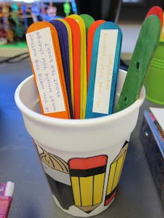 the daily five Daily 5 Station/Literacy Station Organization- response to reading sticks