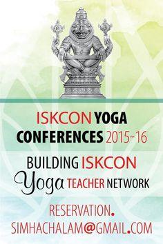 Dandavats   ISKCON Yoga conferences 2015-2016 – COMMUNIQUE