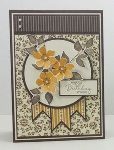SPARK. elegant, die cut flowers and leaves, DSP, banners, Stampin Connection.