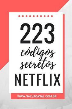 223 códigos secretos Netflix que você precisa conhecer! Netflix Codes, Netflix Tv, Netflix Dramas, Cinema Movies, Movie Tv, Series Movies, Movies To Watch, Good To Know, Life Hacks