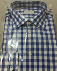 NWT$295 Eton of Sweden luxury beautiful shirt 16.5/42 Contemp.(Holiday Gift sale #Eton