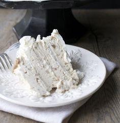 Torta merengue castaña / Chestnut cake   En mi cocina hoy (translate)