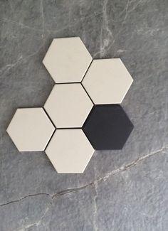 Hexagon Tiles, Boutique, Tile Floor, Flooring, Texture, Crafts, Interiors, Hex Tile, Plumbing