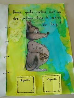 la classe de mademoiselle violette: livre de devinettes sur les contes traditionnels