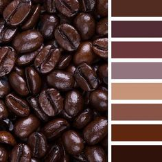 A lovely restrained palette paints, personifying the ground. Brown symbolizes reliability, stability and security. It is a great color for creating a home-. Color Schemes Colour Palettes, Colour Pallette, Color Combinations, Decoration Palette, Pantone 2020, Brown Aesthetic, Cafe Bistro, Color Psychology, Color Harmony