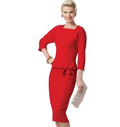 Butterick Patterns---love the red