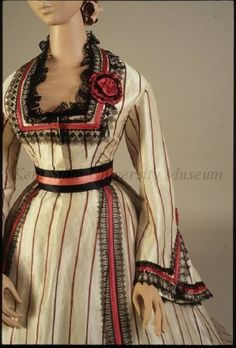 Old Rags - Dress, ca 1867, Kent State