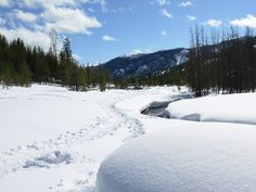 Galena Lodge snowshoeing.
