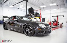 Mercedes SL55 AMG Weistec Supercharged