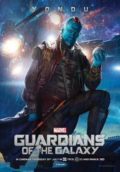 ComingSoon.net has posted the latest character poster for James Gunn's Guardians of the Galaxy featuring Michael Rooker as Yondu – one of th...